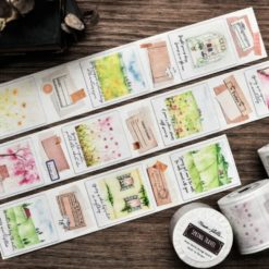 Miao Stelle Spring Travel Washi Tape