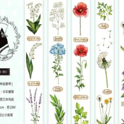 Miao Stelle Summer Forest Washi Tape