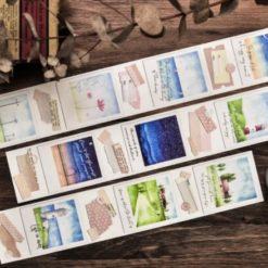 Miao Stelle Summer Travel Washi Tape