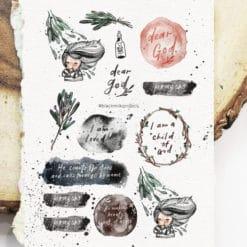 Black Milk Project Sticker Sheet - Dear God