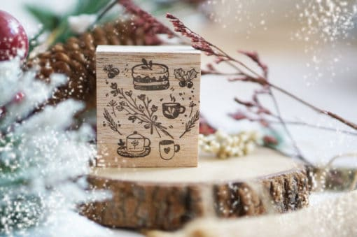 Black Milk Project Rubber Stamp Set - Little Things