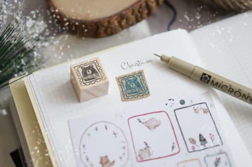 Black Milk Project Rubber Stamp - Bear