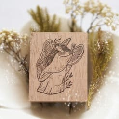 Black Milk Project Rubber Stamp - Christmas Angel